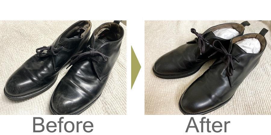 お気軽にお問い合わせください!,革靴 丸洗い 補色