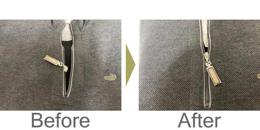 お気軽にお問い合わせください!,セーター ファスナー 修理