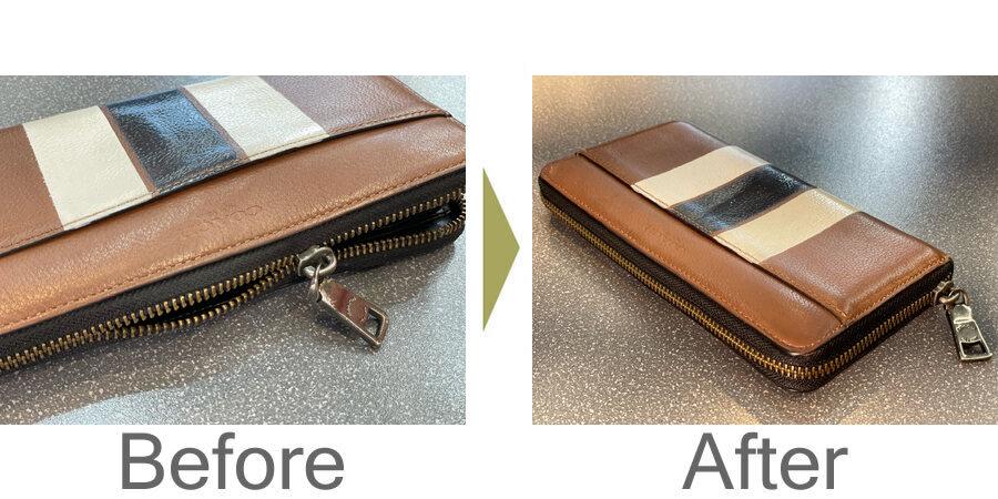 お気軽にお問い合わせください!,財布のファスナーの修理