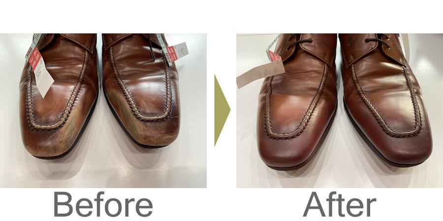 お気軽にお問い合わせください!,リーガル革靴のスレを修正しました