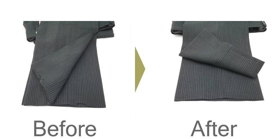 お気軽にお問い合わせください!,ズボンの裾 擦り切れ 修理
