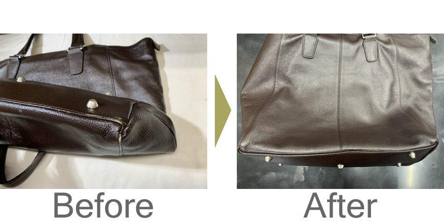 お気軽にお問い合わせください!,革鞄丸洗いと色剥げ補修