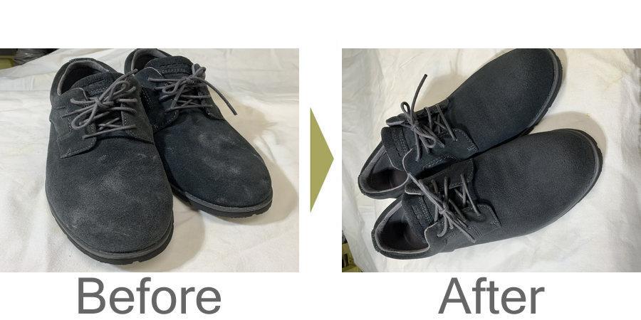 お気軽にお問い合わせください!,スエード革靴のメンテナンス