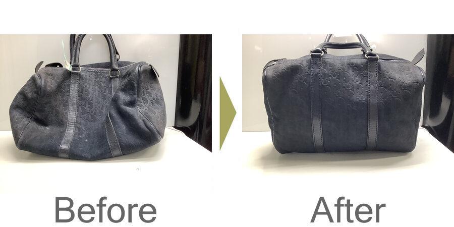 お気軽にお問い合わせください!,DIORディオールバッグの丸洗い、色補正