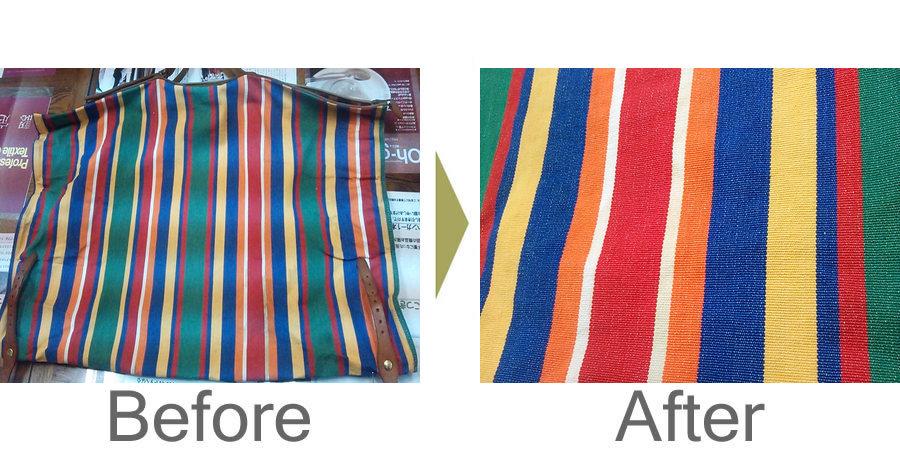 お気軽にお問い合わせください!,イルビゾンテ 黄ばみ除去 丸洗い キャンバスバッグ