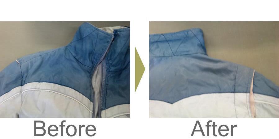 お気軽にお問い合わせください!,カナダ製 ジャンバー 衿袖作替