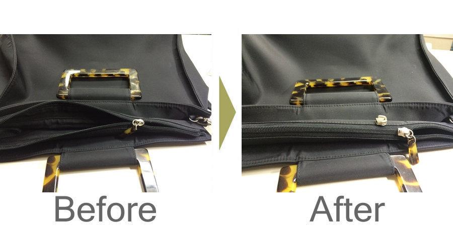 お気軽にお問い合わせください!,バッグのファスナー修理、スライダー交換‼️