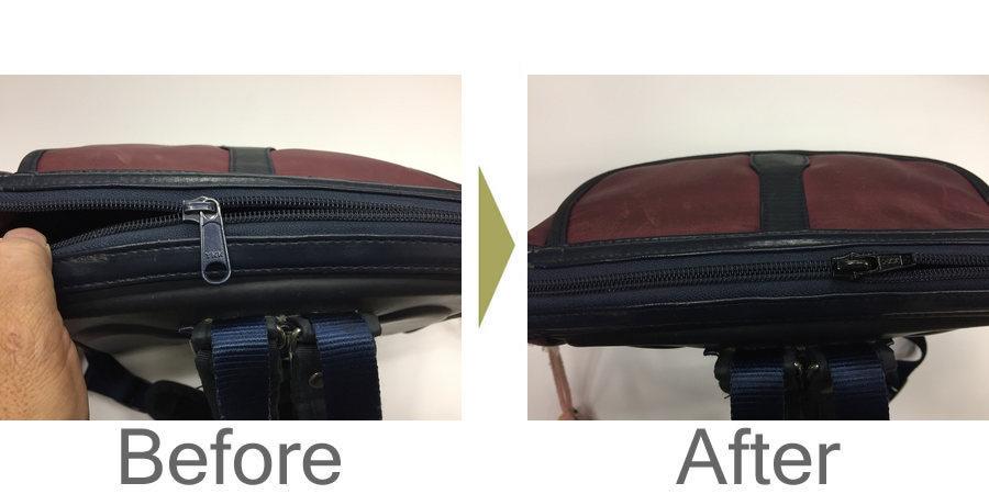 お気軽にお問い合わせください!,園児の鞄 ファスナー修理