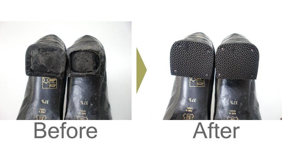 お気軽にお問い合わせください!,フランス製 ブーツ かかとリフト交換
