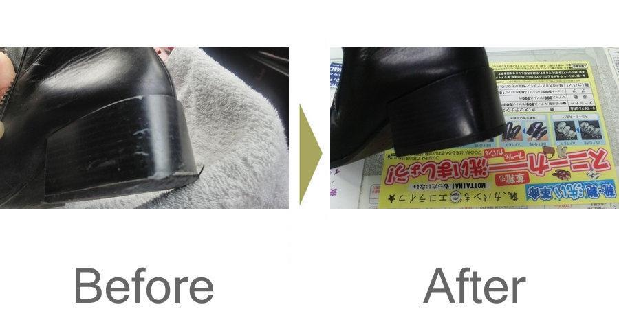 お気軽にお問い合わせください!,ショートブーツのヒール修理