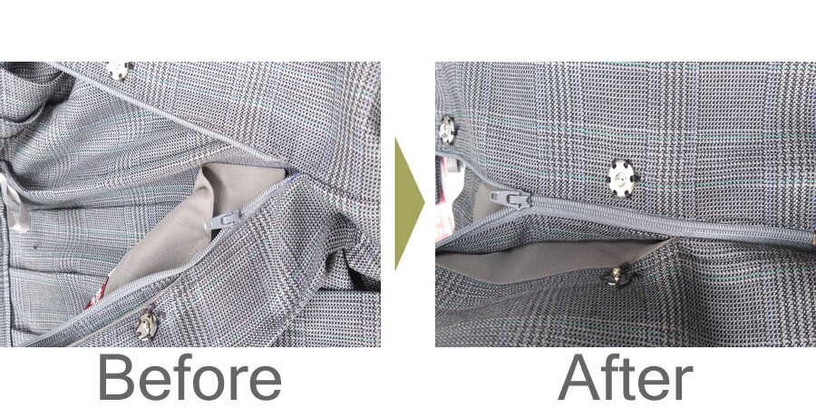 お気軽にお問い合わせください!,学生スカートファスナー修理