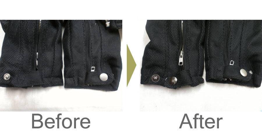 お気軽にお問い合わせください!,SCHOOTTのライダージャケット ホック修理
