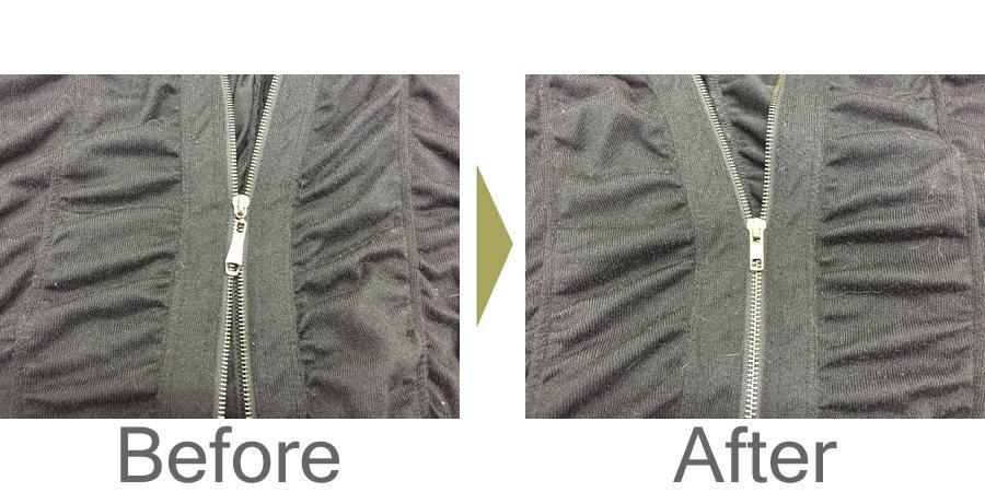 お気軽にお問い合わせください!,ジャケットのオープンファスナーの修理