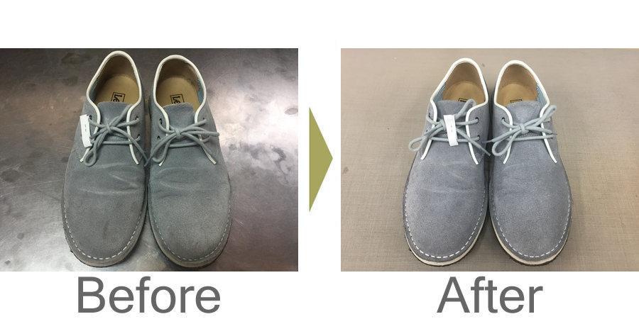 お気軽にお問い合わせください!,スウェードの靴の丸洗い