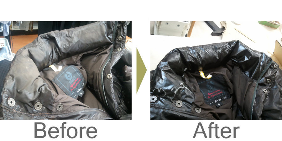 お気軽にお問い合わせください!,ベルスタッフ ダウンジャンバー 衿の復元