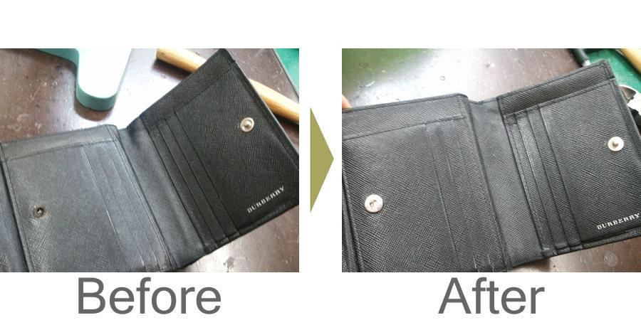 お気軽にお問い合わせください!,バーバリー 財布 スナップ修理