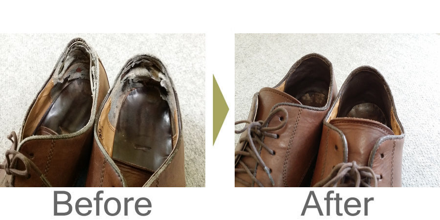お気軽にお問い合わせください!,靴 内側の劣化 修理