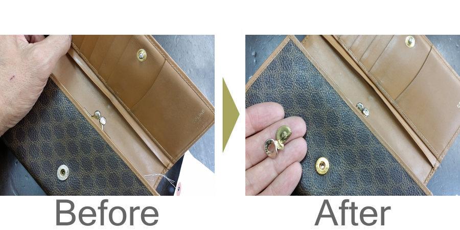 お気軽にお問い合わせください!,財布 スナップボタン 修理