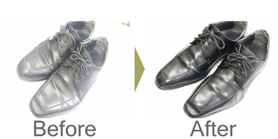 お気軽にお問い合わせください!,靴 磨き メンテナンス