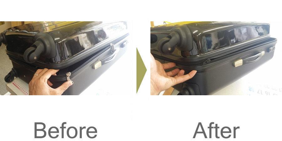 お気軽にお問い合わせください!,スーツケース ファスナー 修理