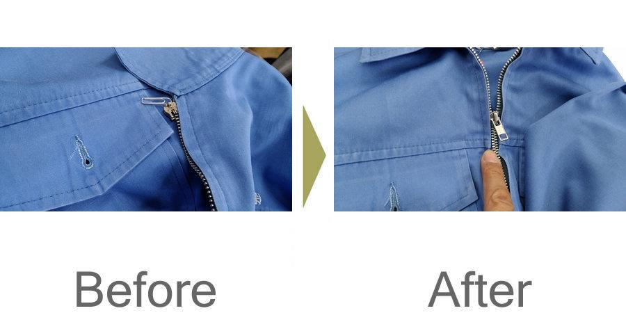 お気軽にお問い合わせください!,作業服 ファスナーのトラブル 修理