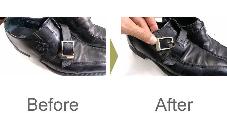 お気軽にお問い合わせください!,靴 サイドベルト 修理