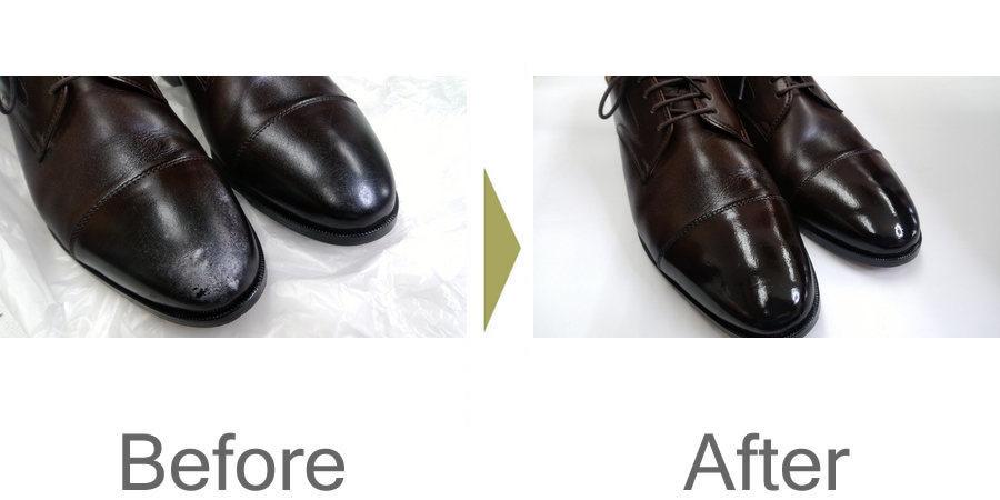 お気軽にお問い合わせください!,防水スプレーで白くなってしまった靴