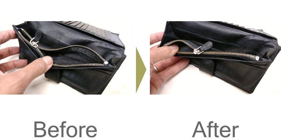 お気軽にお問い合わせください!,財布 ファスナー修理