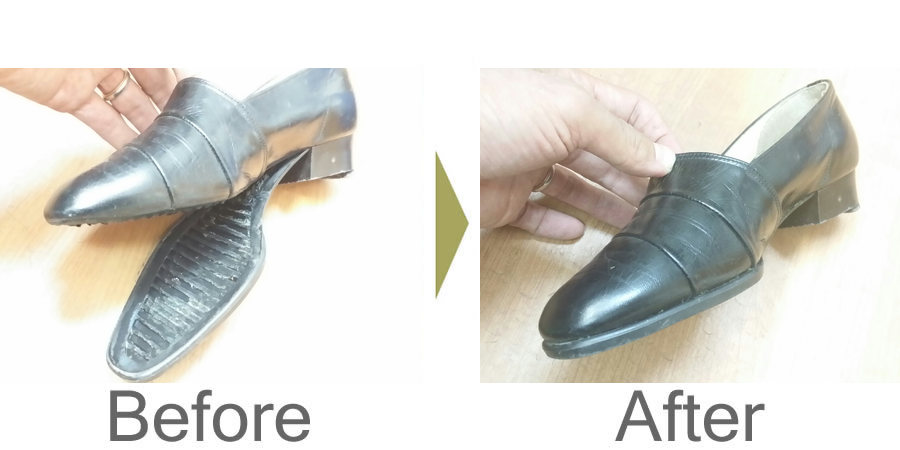 お気軽にお問い合わせください!,靴 底のハガレ 修理