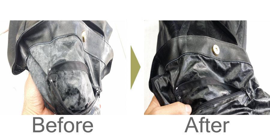 お気軽にお問い合わせください!,鞄 裏 合成皮革の復元