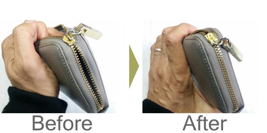 お気軽にお問い合わせください!,財布 ファスナー 修理