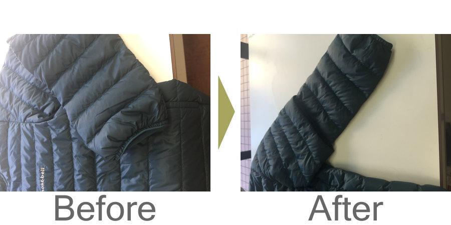 お気軽にお問い合わせください!,ダウンジャケット 袖丈詰め 安くリフォーム
