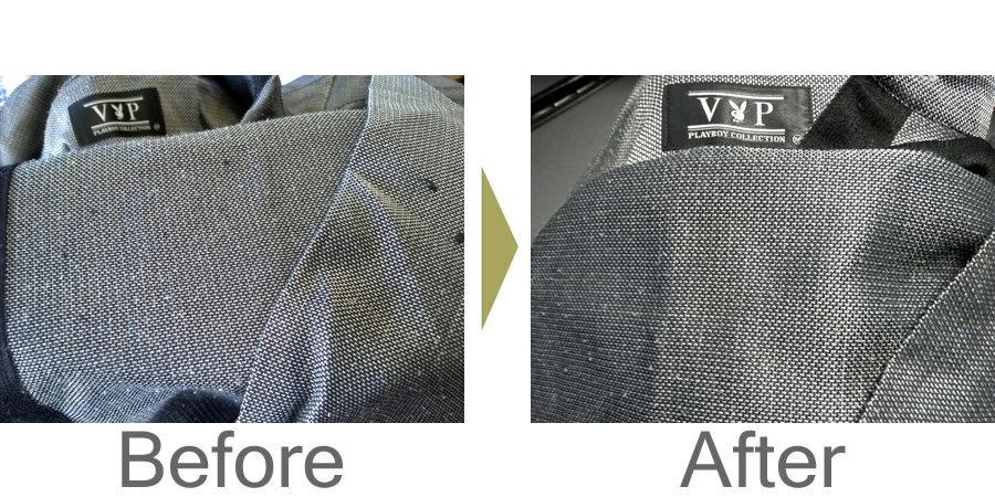 お気軽にお問い合わせください!,シャツの糸引き修理