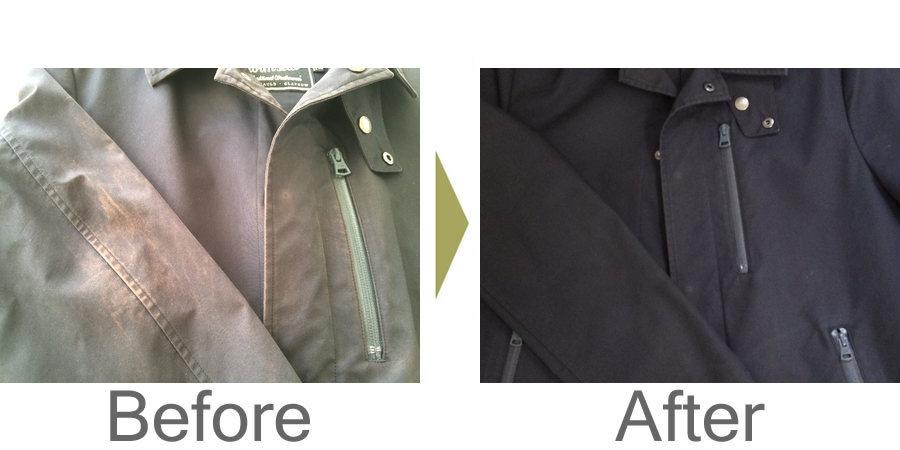 お気軽にお問い合わせください!,,マッキントッシュのコート 日焼け直し色修正