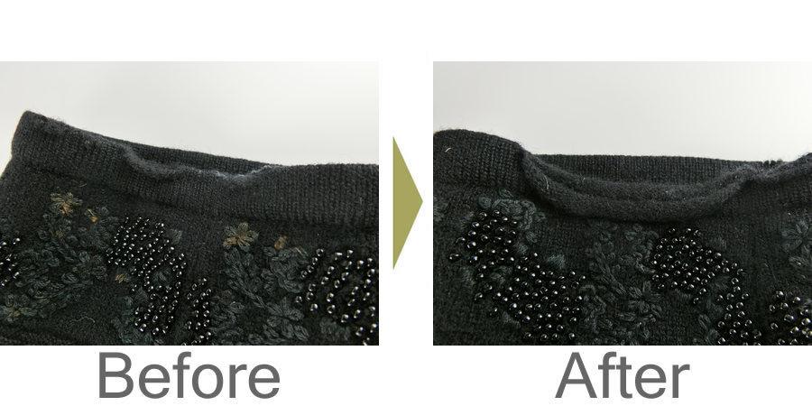 お気軽にお問い合わせください!,セーター 袖口 修理