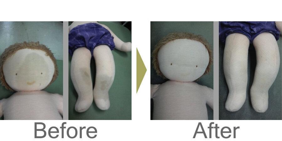 お気軽にお問い合わせください!,ぬいぐるみ人形のクリーニング・しみ抜き