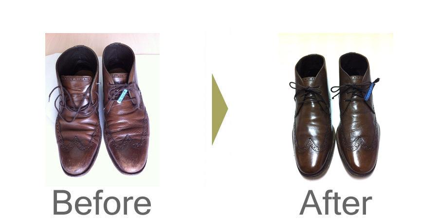 お気軽にお問い合わせください!,コールハーン 革靴 磨き